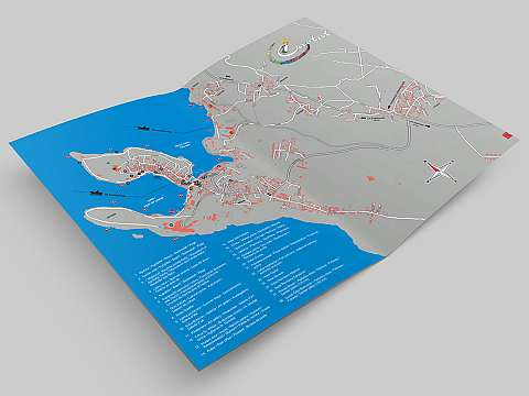 Cavtat Tourist Map